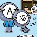 폰꾸미기 혈액형A형 열공모드 logo