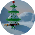 Christmas Snowman LWP icon