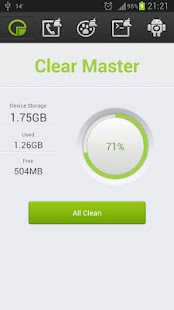 Clear Master - cache clear- screenshot thumbnail