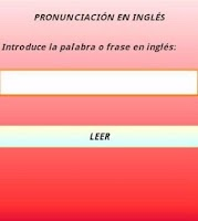 Screenshot of Aprende Pronunciación Inglés