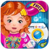 Baby Cloth Wash & Dressup-Game