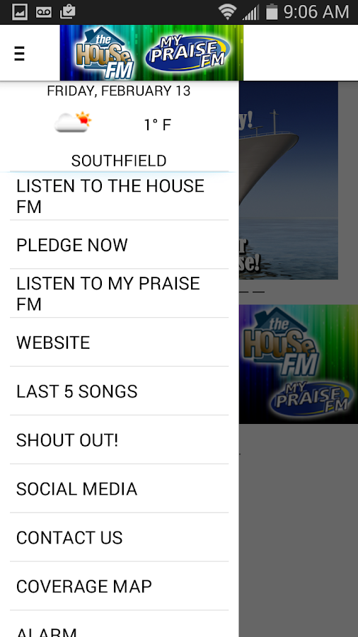 The House FM / My Praise FM - screenshot