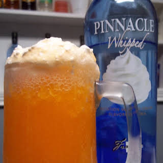 Whipped Vodka - Orange Creamsicle.