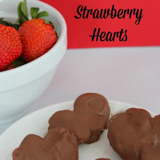 Heart Shaped Chocolate Covered Strawberries