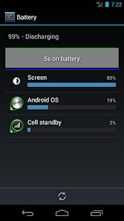 Battery Usage Shortcut - screenshot thumbnail