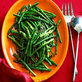 Chinese Long Beans with XO Sauce.