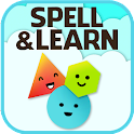 Spell & Learn: Colors & Shapes icon