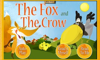 Screenshot of Fox & Crow Storybook for Kids