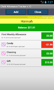 Child Allowance Money NO ADS - screenshot thumbnail