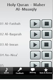 Holy Quran - Maher Al-Muaiqly - screenshot thumbnail