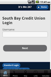 South Bay CU Mobile Banking- screenshot thumbnail