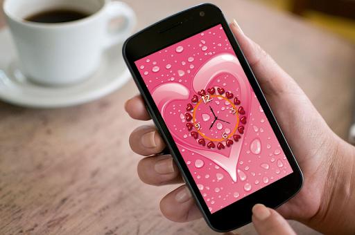 Love Clock Live Wallpaper