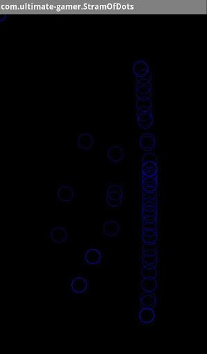 Stream Of Dots