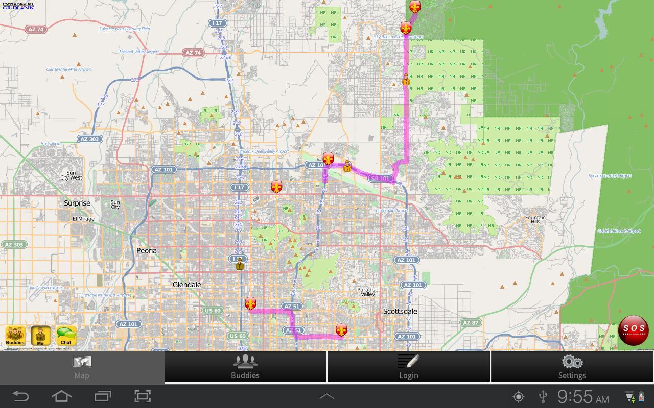 GeoScout- screenshot