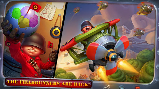 Fieldrunners 2 android title