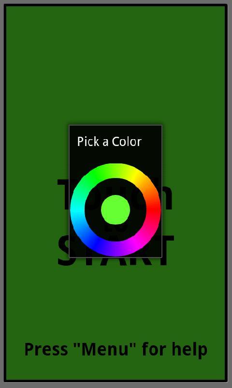 Canvas Paint Flashlight- screenshot