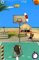 Screenshot of Basketball Shooting Stars