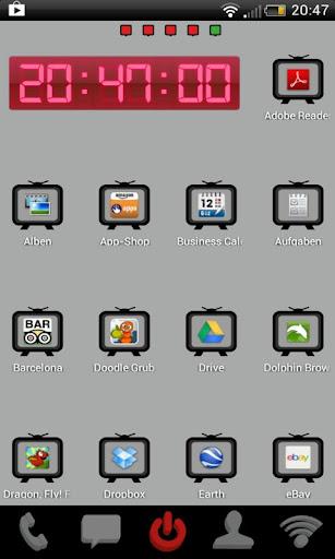 【免費個人化App】Go Launcher TV Theme-APP點子
