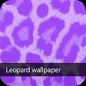 purple leopard wallpaper ver1 icon