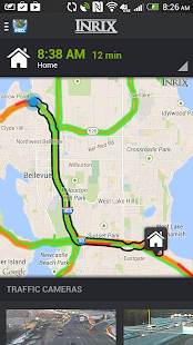 INRIX XD Traffic Maps & Alerts- screenshot thumbnail