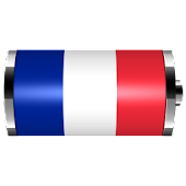 France: Flag Battery Widget