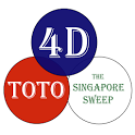 SGPools - 4D, Toto, Big Sweep icon