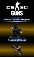 Screenshot of CS: Global Offensive Guns
