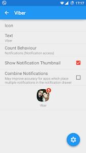 Notifyer+ Unread Count v2.6