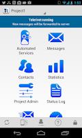 Screenshot of Telerivet