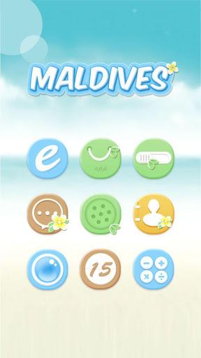Maldives Hola Launcher Theme