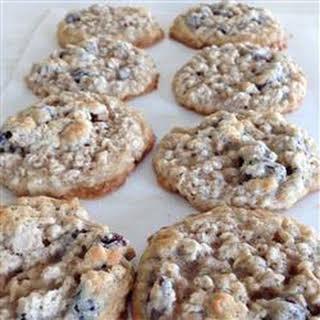Raisin Oatmeal Cookies.