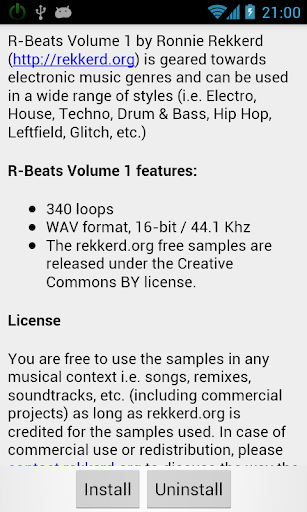【免費音樂App】R-Beats Loops for GrooveMixer-APP點子