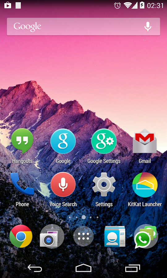 KitKat Launcher - screenshot