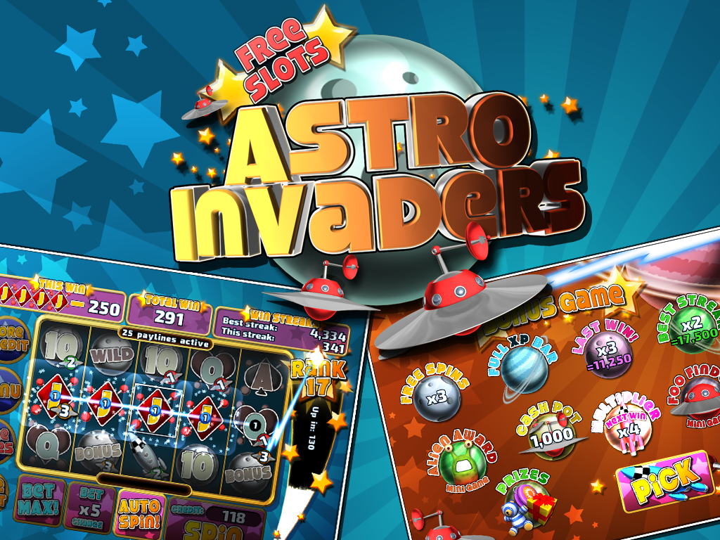 Astro Invaders Slots- screenshot
