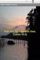 Screenshot of Alarm-Bible Quotes-Free