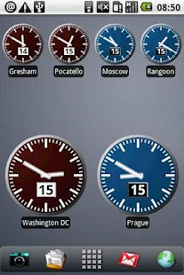 World Clock Widget Pro - screenshot thumbnail