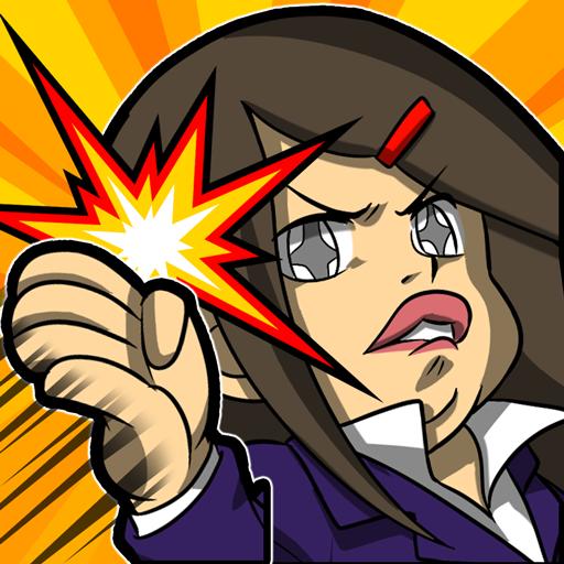 バチコン!ビンタで飛ばせ!超簡単ひまつぶしゲーム無料バカゲー 動作 App LOGO-APP試玩