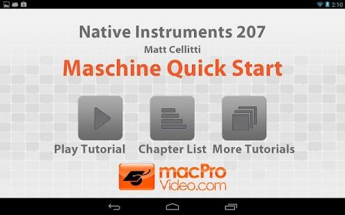 NI Maschine Quick Start