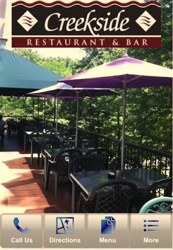 Creekside Restaurant Bar