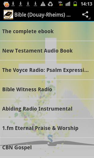 Bible Douay-Rheims Ad-Free