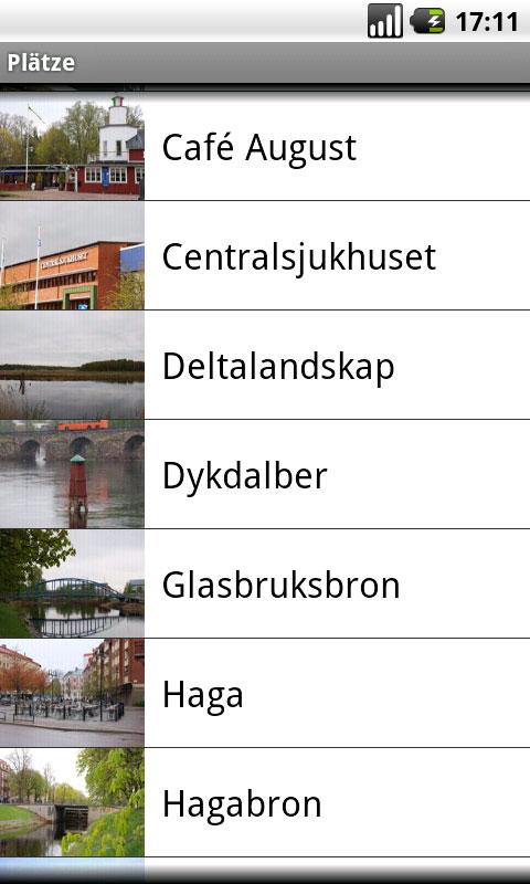 Båtbussguide (Deutsch) - screenshot