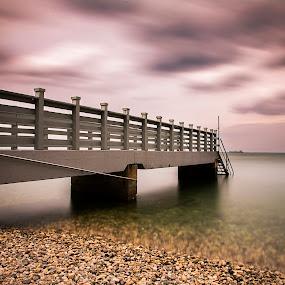 pier by Dominik Konjedic - Landscapes Waterscapes ( waterscape, koper, slovenia, sea, pier )