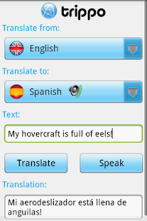 Trippo Mondo- Voice Translator - screenshot thumbnail