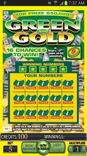 == GREEN GOLD Scratch Card ==