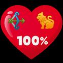Zodiac Love Test +prank+ icon