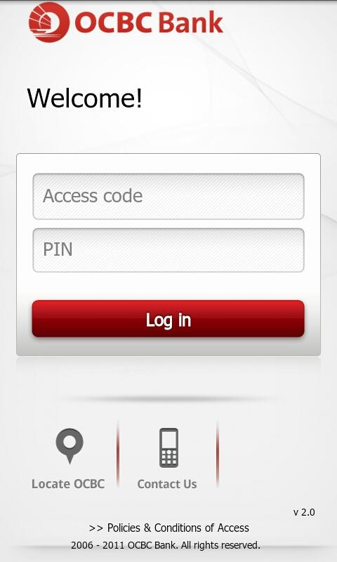 OCBC Bank - screenshot