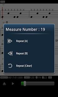 MIDI Drum Score Player- screenshot thumbnail