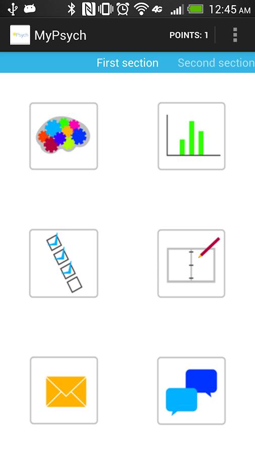 MyPsych - screenshot