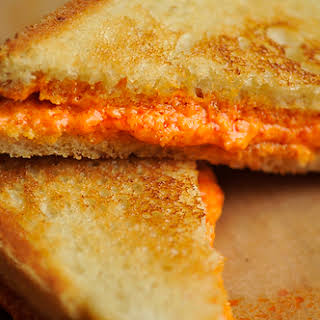 Grilled Pepper Cheese Sandwiches.