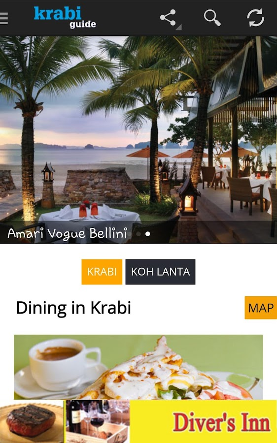 Krabi Guide- screenshot
